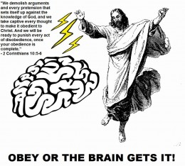 Mental slavery isn't a good thing either