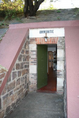 Entrance to the Central Magazine