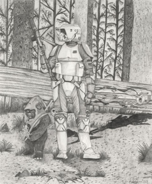 Star Wars: Foes of Endor by Dave Harris