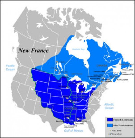 New France ca. 1712