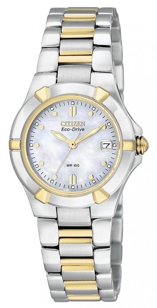 Beautiful ladies two tone watch by Citizen