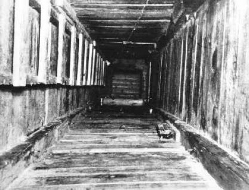 "The Shaft of ""Harry"" tunnel at Stalag Luft 3"
