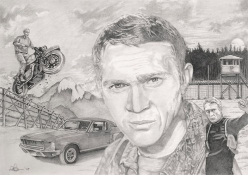 McQueen montage by Dave Harris