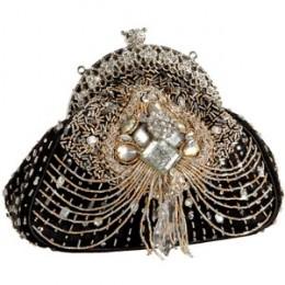 Mary Frances Crystal Palace Clutch Bag