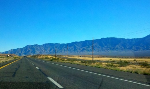 Heading North in Arizona for a brief pass through and into Utah.