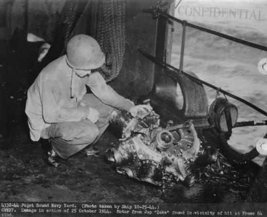 Sakae air cooled 14 cylinder radial