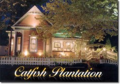 A Review of The Restaurant of The Catfish Plantation in Waxahachie Texas