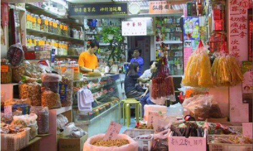 Chinese provision shop.