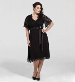 Plus Size Flaunt Cocktail Dress