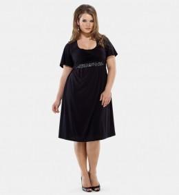 Kiyonna Clothing Plus Size Ella Roched Dress