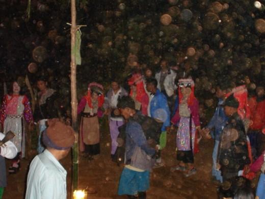 Lisu Match-making dance