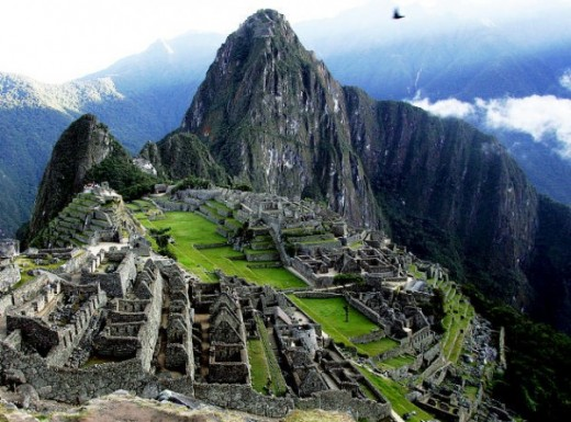 Machu Picchu of Peru (Inca empire)