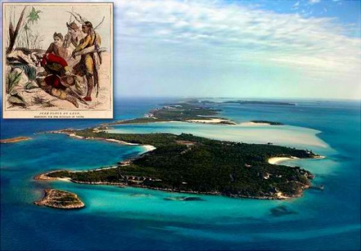 Exuma Island near Florida USA (Fountain of Youth)