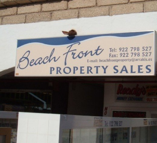Beach Front Property Sales in Tenerife