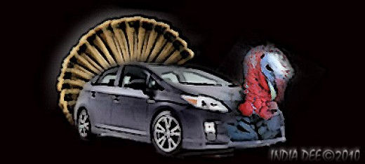 The Turkey-Prius is the new Hybrid on your dinner table!