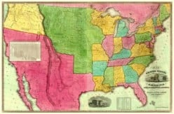 The USA in 1835