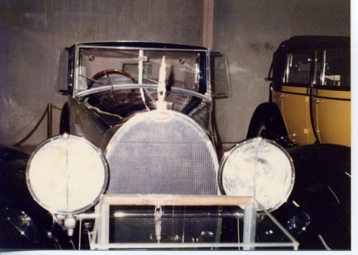 Bugatti Royal at Harrah's museum Reno, 1977 (Copyright.)
