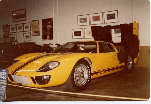 Ford GT40. If I remember correctly this one belonged to Briggs Cunningham. (copyright.)