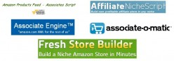 Comparison: Amazon Associates Affiliate Store Scripts
