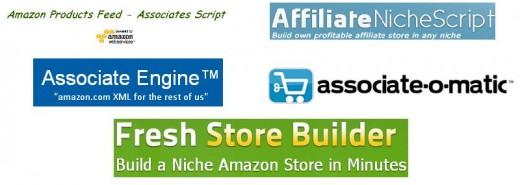 Amazon Associate Affiliate Store Scripts