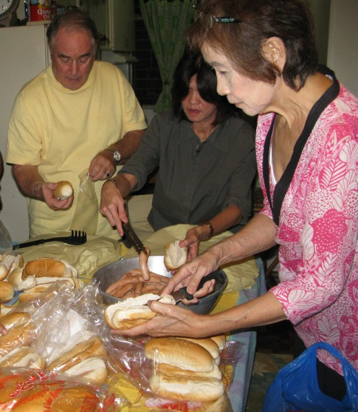 Team sandwich