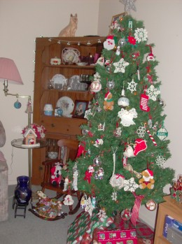 Our Christmas tree, 2009