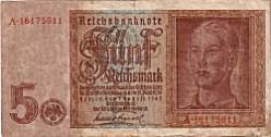 WW2 German Reichmarks