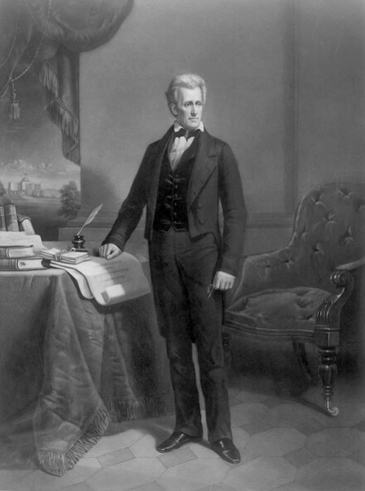"""Andrew Jackson aka """"The Dueler"""""""