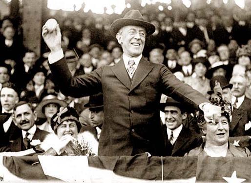 The Austere President Wilson