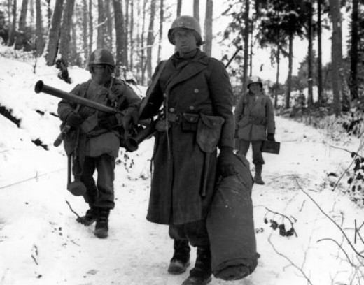The German army launched a counteroffensive that was intended to cut through the Allied forces in a manner that would turn the tide of the war in Hitler's favor. The battle that ensued is known historically as The Battle of the Bulge