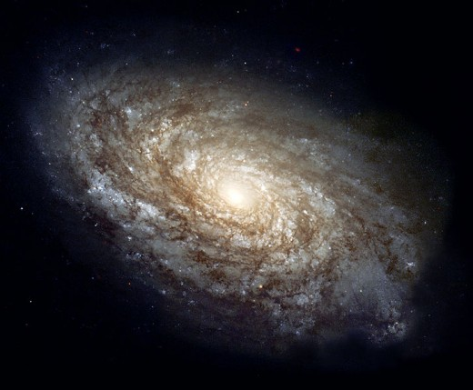 A Galaxy (NGC4414) Billions to trillions of stars within.