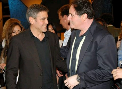 "George Clooney and one of ""the boys"" Richard Kind"