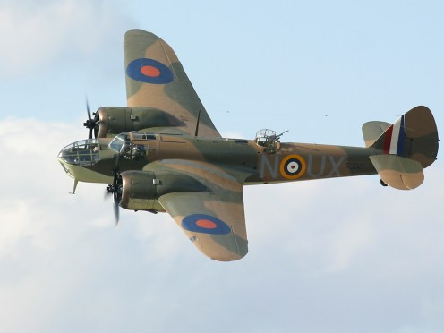 The Bristol Blenheim