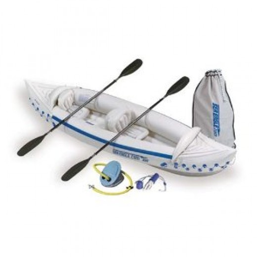 ea Eagle 330 Inflatable Kayak with Deluxe Package