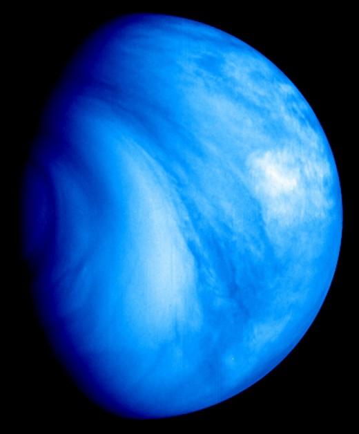 Venus via a different spectrum.