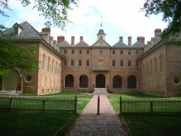 The Wren Building, College of William and Mary. Photo courtesy of Wikipedia.