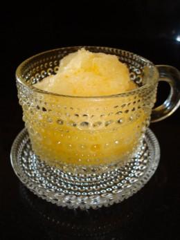 Orange lemon sorbet