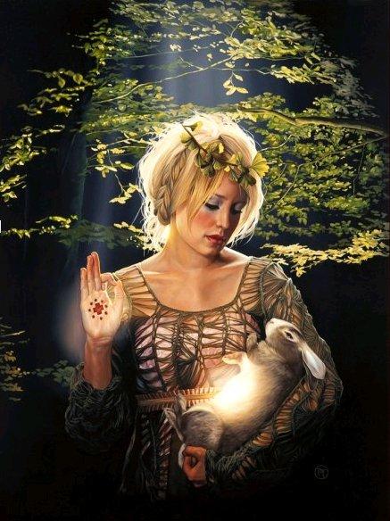 She Who Heals the Fallen