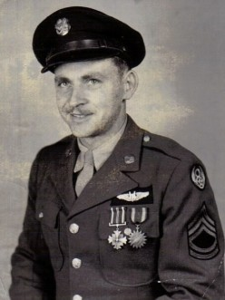 The official USAAF portrait in 1944