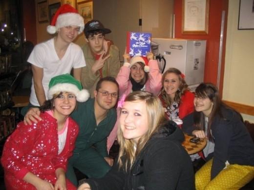 The Night Before The Night Before Christmas 2008 - At Starbucks