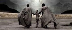 A Spartan boy is taken from his mother to the Agoge