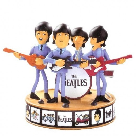 Carlton Cards Heirloom The Beatles Christmas Ornament