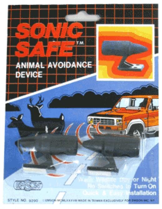 Deer Whistle in Packaging