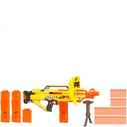 Nerf N Strike Stampede ECS Blaster - Rifle and accessories