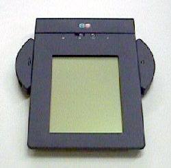 The EO Personal Communicator, designed to compete with the Apple Newton.