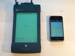 The Apple Newton, grandfather to the IPhone / IPod Touch.