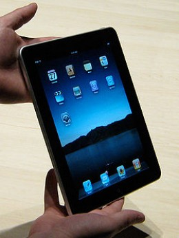 2010 release of the Apple IPad. The evolution of advancement reveals an affinity for thin devices.