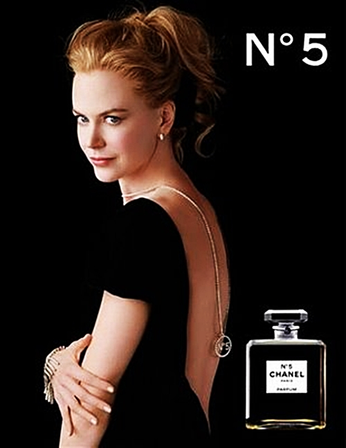 No 5 Chanel ad starring Nicole Kidman