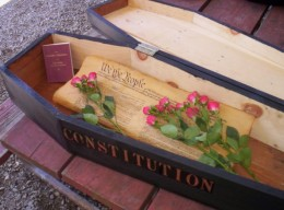 Some say the Constitution died in 2001, but it actually died in 1871.