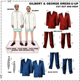 Gilbert and George Dress-U-Up by David Gauntlett
